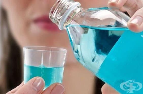 Отстранете въшките по косата с вода за уста - изображение