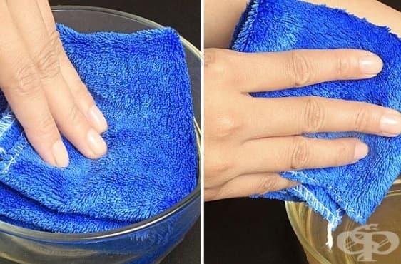 Използвайте топъл компрес преди бръснене, за да защитите кожата си  - изображение