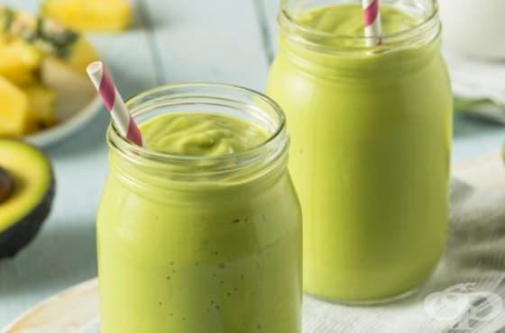 Отървете се от излишните килограми със смути от авокадо, спанак и портокал - изображение