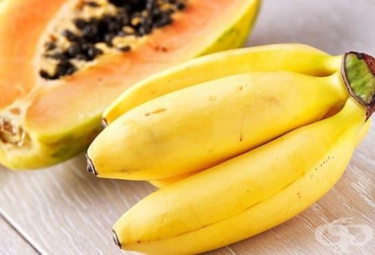 Направете си маска от папая и банан за премахване на петната по кожата и заглаждане на тена   - изображение