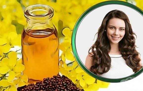 Как да боядисате косата си с масло от синапено семе?   - изображение