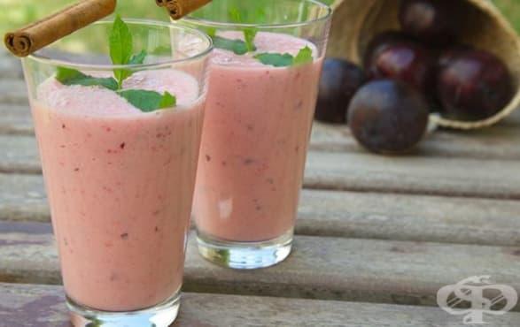 Намалете вредния холестерол с напитка от сливи, мента и сминдух    - изображение