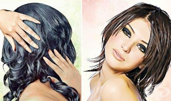 Предотвратете омазняването на косата с водка   - изображение