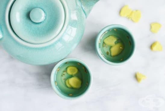 Облекчете подуването и дискомфорта в стомаха с чай от копър и джинджифил - изображение
