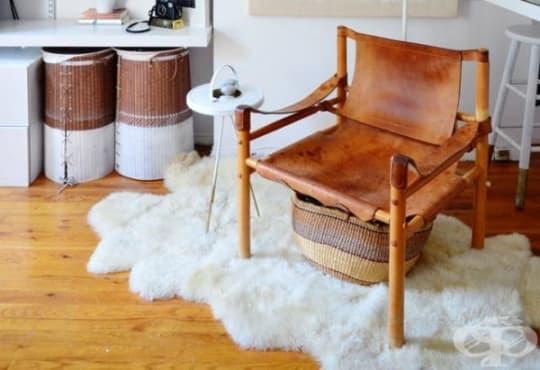 Научете 3 стъпки за правилно почистване на килим от овча кожа - изображение
