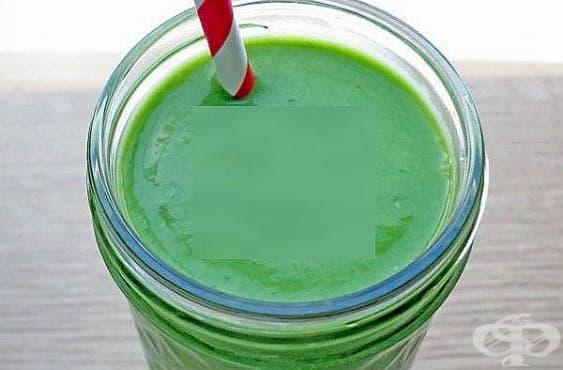 Заредете се с енергия и настроение с напитка от спанак и кардамон   - изображение