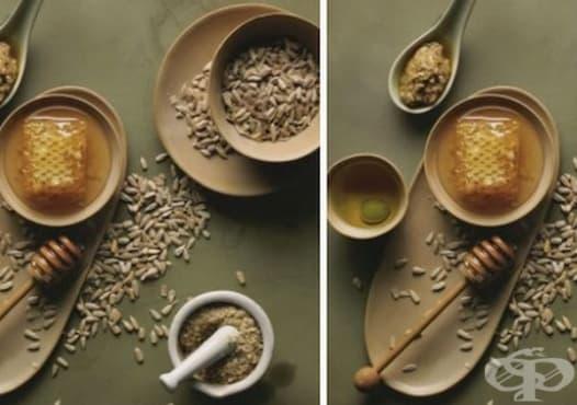 Направете си маска за чувствителна кожа от мед, зехтин и слънчоглед - изображение