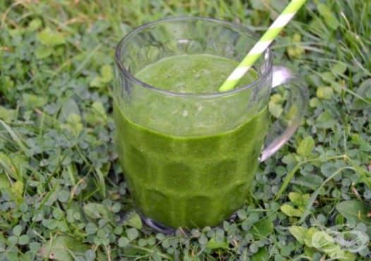 Пригответе си зелено смути за здрава кожа и сияен тен  - изображение