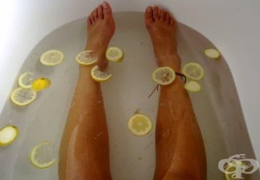 Поглезете кожата си с вана от зелен чай и лимонов сок   - изображение