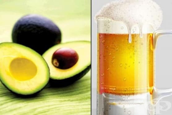Съживете косата си с бира, яйце и масло от авокадо - изображение