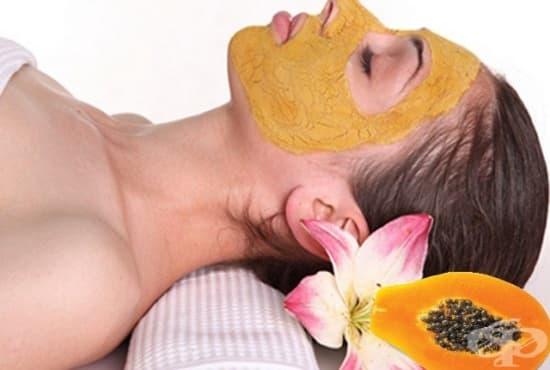 Направете си маска за чувствителна кожа от банан и папая - изображение