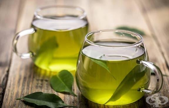 Облекчете синузита със зелен чай  - изображение