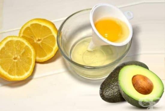 Заличете бръчките около устата с авокадо, белтък и лимон   - изображение