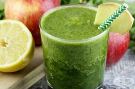 Заредете се с енергия с напитка от рукола, ябълка, лимон и джинджифил   - изображение