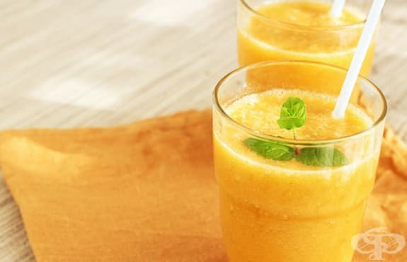 Насърчете отслабването с напитка от грейпфрут, моркови, броколи и зелен чай - изображение