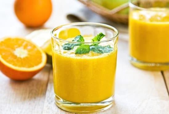 Направете си детоксикираща напитка от портокал, краставица и зелен чай    - изображение