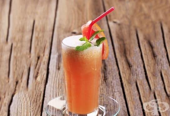 Пийте ефикасна напитка за отслабване от целина, цвекло, грейпфрут и кейл - изображение