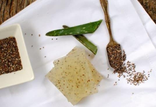 Пригответе си ексфолиращ сапун от глицерин, чия и алое - изображение