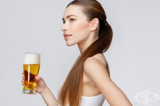 Победете цъфтящите краища с маска от бира и олио - изображение