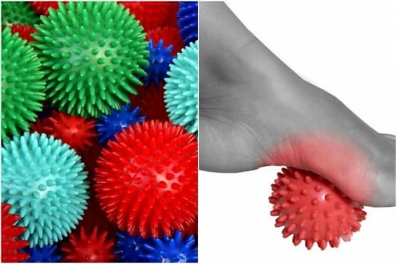 Стимулирайте ходилата с масажна топка за 4 здравословни ползи - изображение