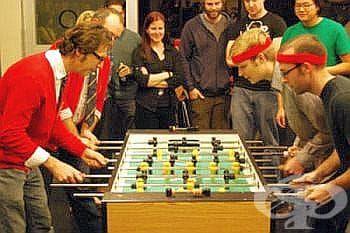 В студеното време играта на джага може да замести истинския футбол - изображение
