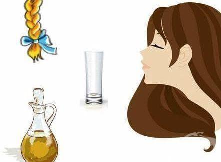 Ако косата ви постоянно цъфти, потопете плитката си в растително масло - изображение