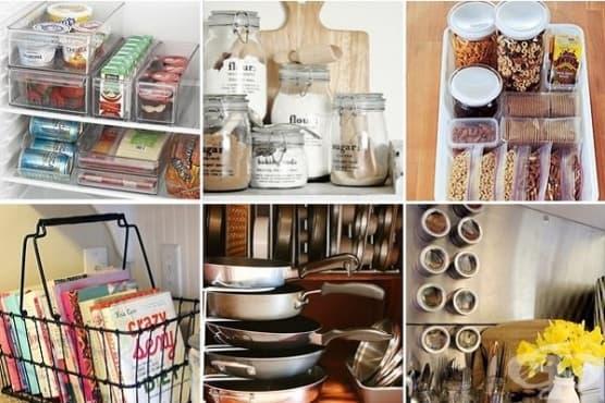 Внесете ред в кухнята с 8 гениални идеи - изображение