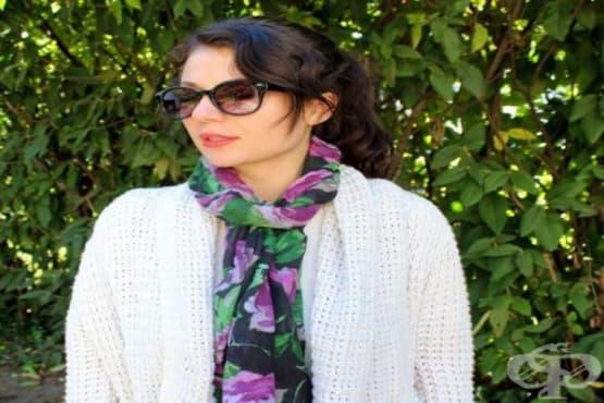 Използвайте 7 разновидности на това как можете да носите шал - изображение