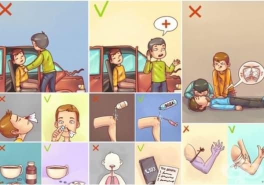 9 техники за първа помощ, които могат да бъдат вредни - изображение