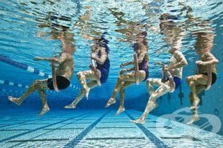 Ако имате ставни проблеми или сте трудно подвижни, упражненията във вода са идеални за вас - изображение