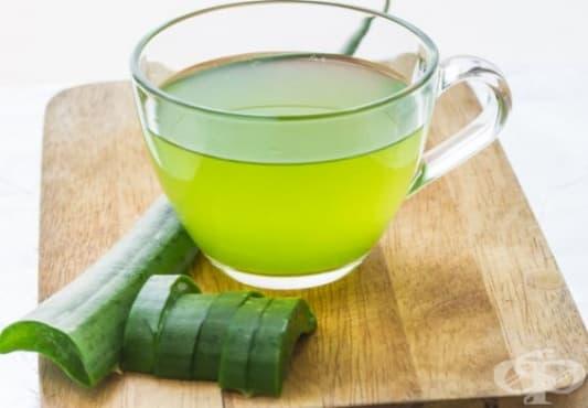 Като разхлаждаща и витаминозна бомба пийте напитка с алое, джинджифил и мента - изображение