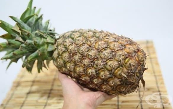 Как да нарежем ананаса в 5 лесни стъпки - изображение
