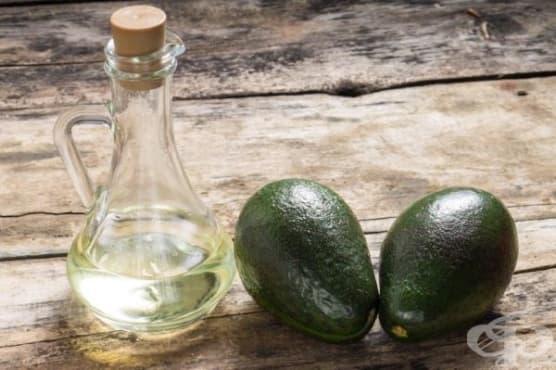 Намажете нараненото място с масло от авокадо - изображение