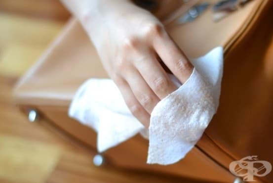 Използвайте 4 начина за премахване на мастило от текстил и кожа - изображение