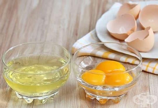 Заличете акнето по кожата с белтък, лимон и розова вода - изображение