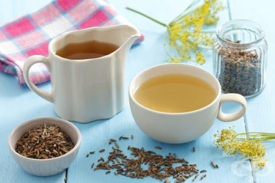 Подобрете храносмилането с чай от див копър (резене) - изображение