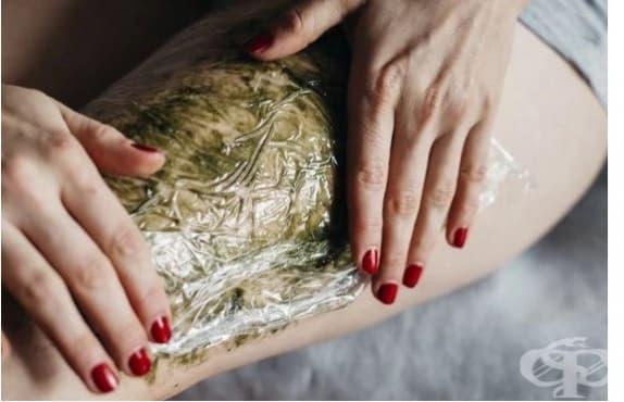 Заличете целулита с водорасли, зехтин и етерични масла - изображение