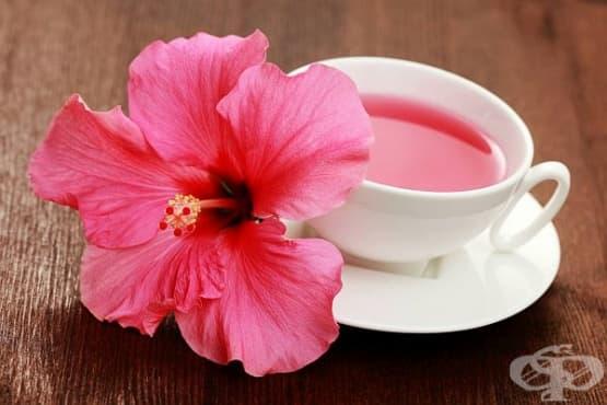 Отървете се от излишните килограми с чай от хибискус  - изображение