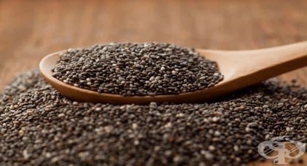 Консумирайте семена от чиа против остеопороза - изображение
