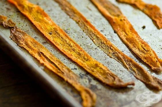 Направете си хрупкав и здравословен чипс от моркови - изображение