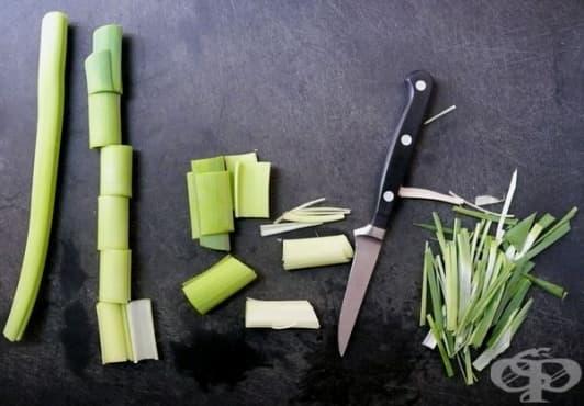 Направете си здравословен чипс от праз - изображение