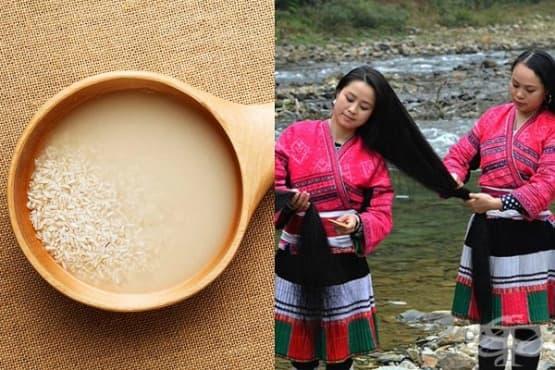 Подсилете косата с уникална китайска рецепта от ориз - изображение