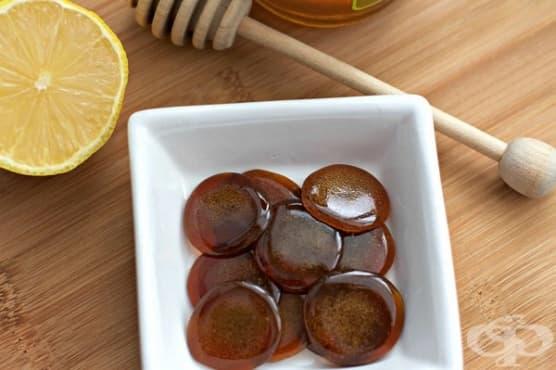 Пригответе домашни бонбони за кашлица с мед - изображение
