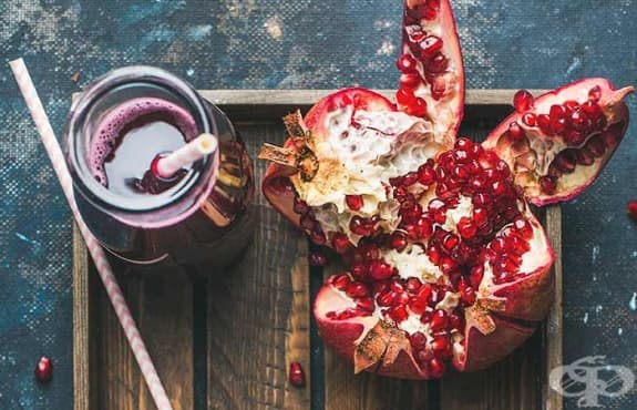 Насърчете изгарянето на излишни мазнини със сок от цвекло и нар    - изображение