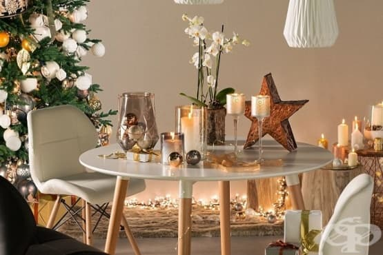 5 страхотни идеи за украса на празничната маса - изображение
