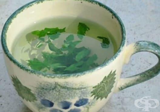 Детоксикирайте черния дроб с чай от мента и магданоз - изображение