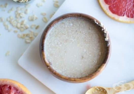 Детоксикирайте кожата с мляко, грейпфрут и овесени ядки - изображение