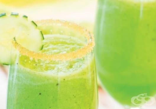 Детоксикирайте тялото с напитка от мента, пъпеш и краставица - изображение