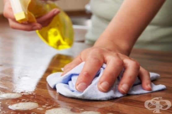 Отстранете бактериите в дома си с дезинфекциращ препарат от водка, оцет и етерични масла - изображение