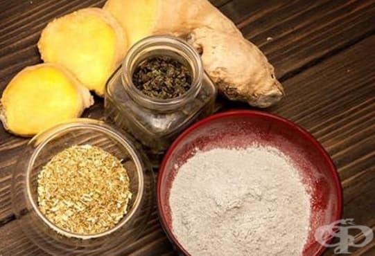 Премахнете акнето и комедоните с джинджифил, глина, лайка и зелен чай - изображение